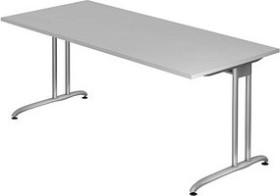 Hammerbacher Ergonomic B-Serie BS19/5, grau, Schreibtisch