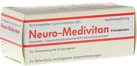 Neuro-Medivitan Filmtabletten, 50 Stück
