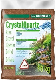 Dennerle Kristall-Quarzkies rehbraun 10kg (1732)