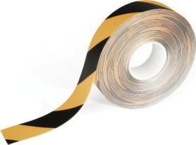 Durable Duraline Strong, Bodenmarkierung Klebeband, gelb/schwarz, 50mm/30m, 1 Stück (1726130)