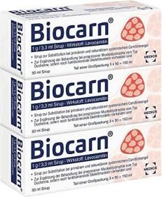 Biocarn Sirup, 150ml (3x 50ml)