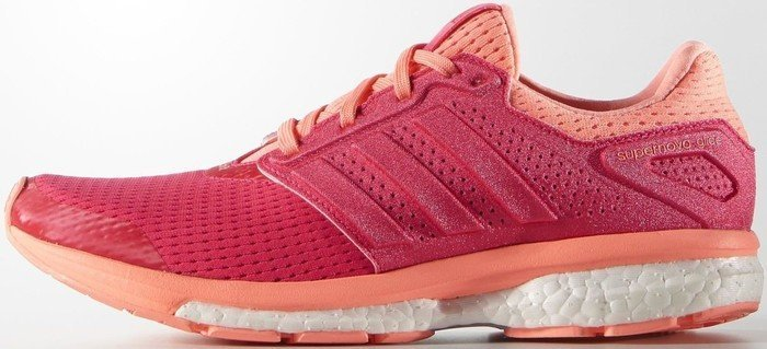 adidas Supernova Glide 8 shock red/sun glow (Damen) (AF6558)