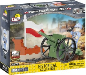 Cobi Historical Collection Great War 75mm Field Gun 1897 (2979)