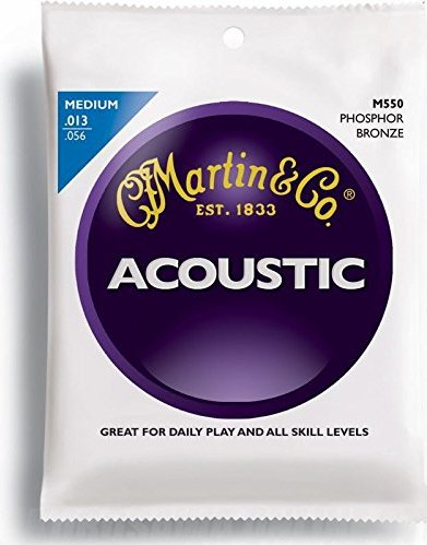 Martin M550 guitar strings -- via Amazon Partnerprogramm