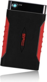Silicon Power Armor A15 schwarz/rot 500GB, USB-A 3.0 (SP500GBPHDA15S3L)