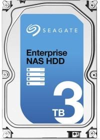 Seagate Enterprise NAS HDD 3TB, +Rescue, SATA 6Gb/s (ST3000VN0011)