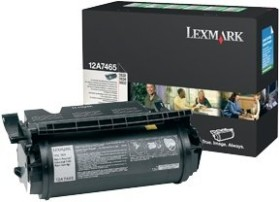 Lexmark Return Toner 12A7610/12A7465 black