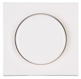 Kopp Athenis Dimmer-Abdeckung für Druck-Wechseldimmer, reinweiß (490629185)