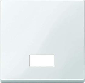 Merten System M Wippe Thermoplast brillant, polarweiß (432819)