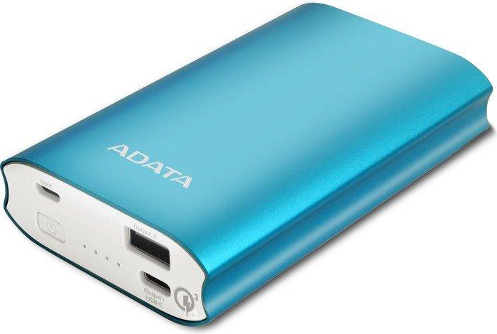 ADATA A10050QC blau (AA10050QC-USBC-5V-CBL)