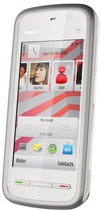 Nokia 5230 Navigation Edition white chrome