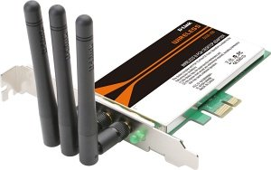 D-Link Wireless N DWA-556, PCIe x1