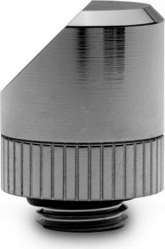 EK Water Blocks Quantum Line EK-Quantum Torque Rotary 45° Winkeladapter, schwarz vernickelt