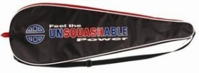 Unsquashable racket skin (various types)