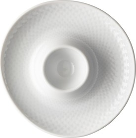Rosenthal Junto white egg cup with tray (10540-800001-15525)
