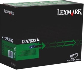 Lexmark Return Toner 12A7632 schwarz