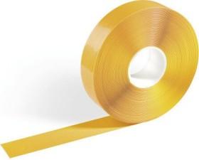 Durable Duraline Strong, Bodenmarkierung Klebeband, gelb, 50mm/30m, 1 Stück (172504)