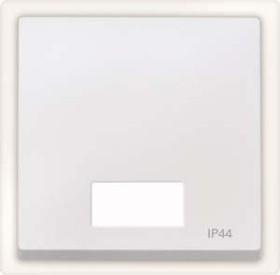 Merten System M Wippe Symbolfenster IP44 Thermoplast edelmatt, polarweiß (433719)