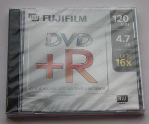 Fujifilm DVD+R 4.7GB -- © bepixelung.org