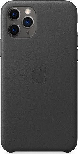 Apple iPhone 11 Pro Leather Case Black (MWYE2ZM/A)