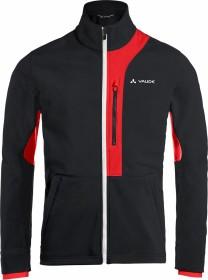 VauDe Virt Softshell Fahrradjacke schwarz/rot (Herren) (41243-031)
