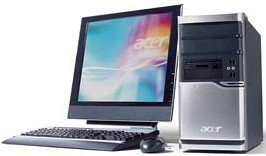 Acer Veriton 6900Pro, Core 2 Duo E6300 2x 1.86GHz, 1GB RAM,  80GB HDD, Linux (PS.6PRE0.O01)