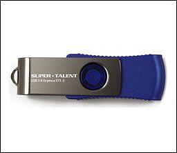 Super Talent Express ST1-3 64GB, USB-A 3.0 (ST3U64S13)