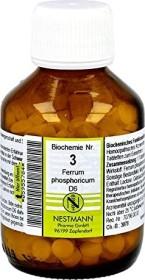 Nestmann Biochemie 3 Ferrum phosphoricum D6 Tabletten, 400 Stück