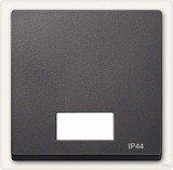 Merten System M Wippe Symbolfenster IP44 Thermoplast edelmatt, anthrazit (433714)