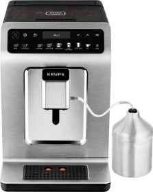 KRUPS EA894T Evidence Plus bean to cup coffee machine + Best Espresso coffee beans + XS5300 cleaning  and servicing set