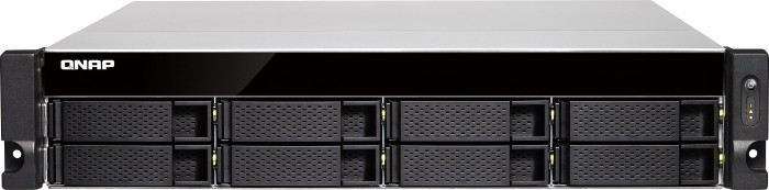 QNAP TVS-872XU-i3-4G 50TB, 2x 10Gb SFP+, 4x Gb LAN, 2HE