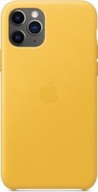 Apple Leder Case für iPhone 11 Pro sonnengelb (MWYA2ZM/A)