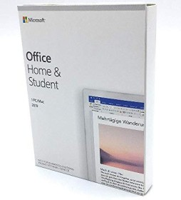 Microsoft Office 2019 Home and Student, PKC (German) (PC/MAC) (79G-05056)