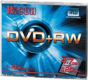 Ricoh DVD+RW 4.7GB 4x, 5-pack Jewelcase (792116)