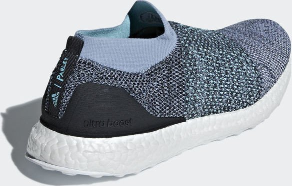 e302027688e6f adidas Ultra Boost Laceless Parley raw grey carbon blue spirit (men)  (CM8271) starting from £ 129.00 (2019)