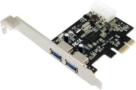 LogiLink 2x USB 3.0, PCIe 2.0 x1 (PC0054)