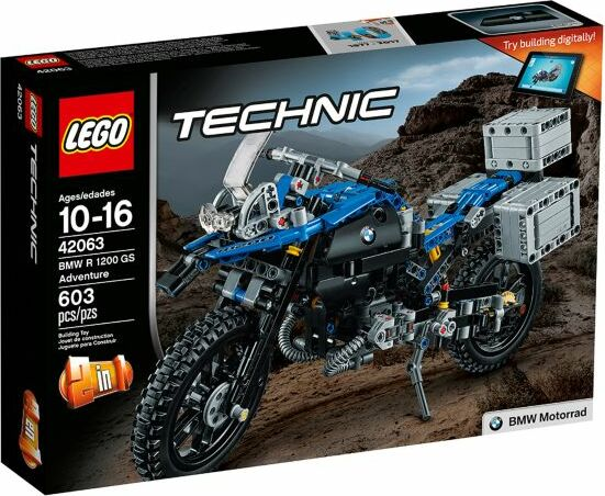 LEGO - Technic - BMW R 1200 GS Adventure (42063)