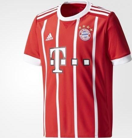 85b5934b6fc6a5 adidas FC Bayern München Heimtrikot Shirt kurzarm 2017 2018 (Junior)  (AZ7954)