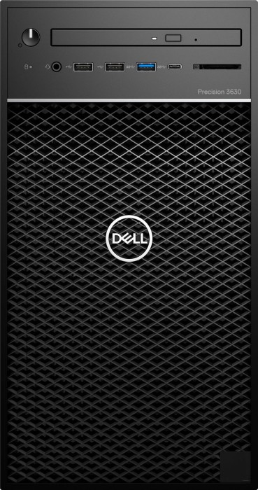 Dell Precision 3630 Tower, Core i7-8700, 16GB RAM, 1TB HDD, 256GB SSD, Windows 10 Pro (R199T)
