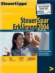 Akademische Arbeitsgemeinschaft: Steuer-Spar Erklärung 2004 (PC)