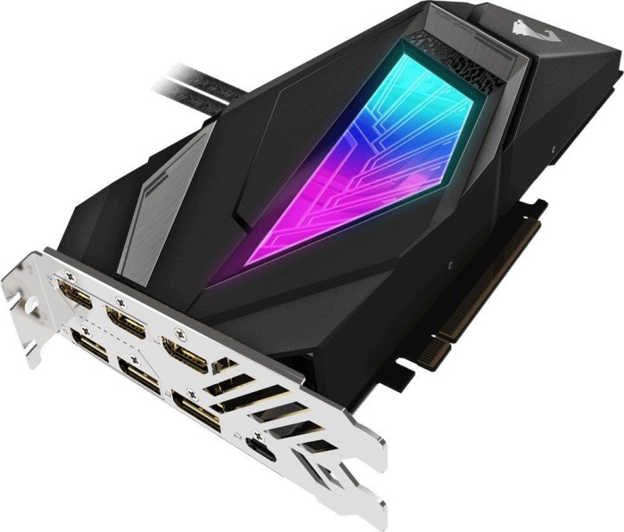Gigabyte Aorus GeForce RTX 2080 SUPER Waterforce 8G, 8GB GDDR6, 3x HDMI, 3x DP, USB-C (GV-N208SAORUS W-8GC)