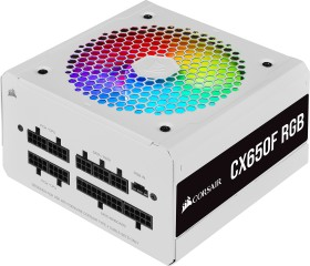 Corsair CX-F RGB White Series CX650F RGB, 650W ATX (CP-9020226-EU)