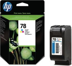 HP Druckkopf mit Tinte 78 XL dreifarbig (C6578AE)
