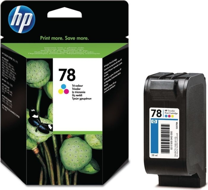 HP Printhead with ink Nr 78 XL coloured (C6578AE)