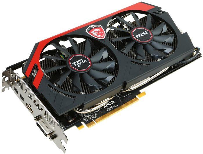 MSI R9 280X Gaming 3G, Radeon R9 280X, 3GB GDDR5, DVI, HDMI, 2x mDP (V277-053R)