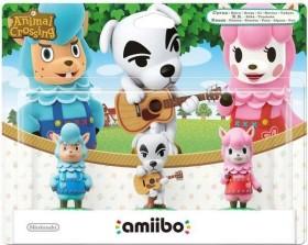 Nintendo amiibo Figuren-Set Animal Crossing Collection (Switch/WiiU/3DS)
