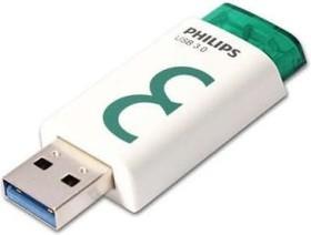 Philips Eject 3.0 8GB weiß/grün, USB-A 3.0 (FM08FD65B/97)