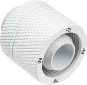 Bitspower hose fitting G1/4 on 16/10mm, white (BP-DWCPF-CC3U)