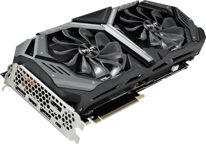 Palit GeForce RTX 2080 GameRock, 8GB GDDR6, HDMI, 3x DP, USB-C (NE62080S20P2-1040G)
