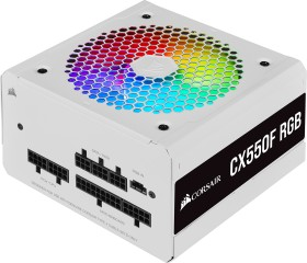 Corsair CX-F RGB White Series CX550F RGB, 550W ATX (CP-9020225-EU)